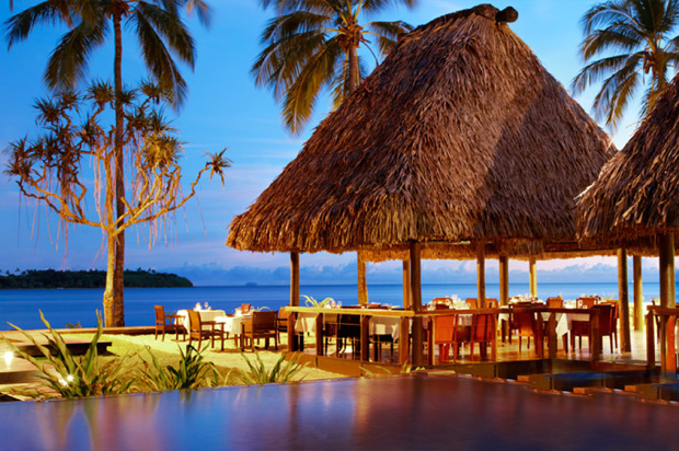 Snorkel outside your Fiji Quintess home before visiting the Bagata village.