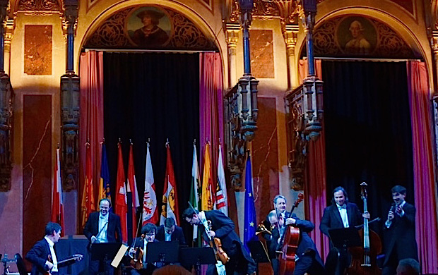 Classic Music Concert at the historic Palais Arsenol, Vienna.