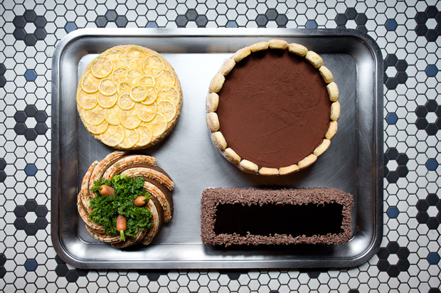 Carbone Dessert Tray