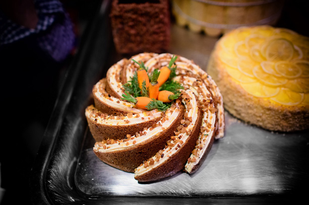 Carrot Cake Display