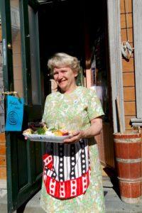 Gurli Riis Holmen, owner of Trondheim's Skyddstation restaurant.