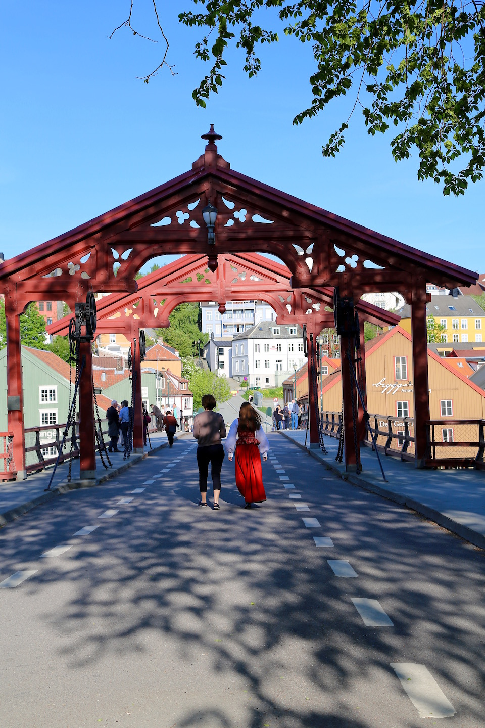 Old City Bridge Trondheim