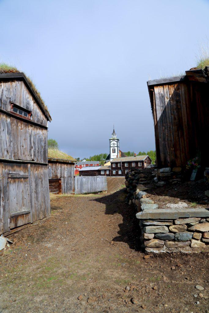 Roros Mining Town Roros Norway