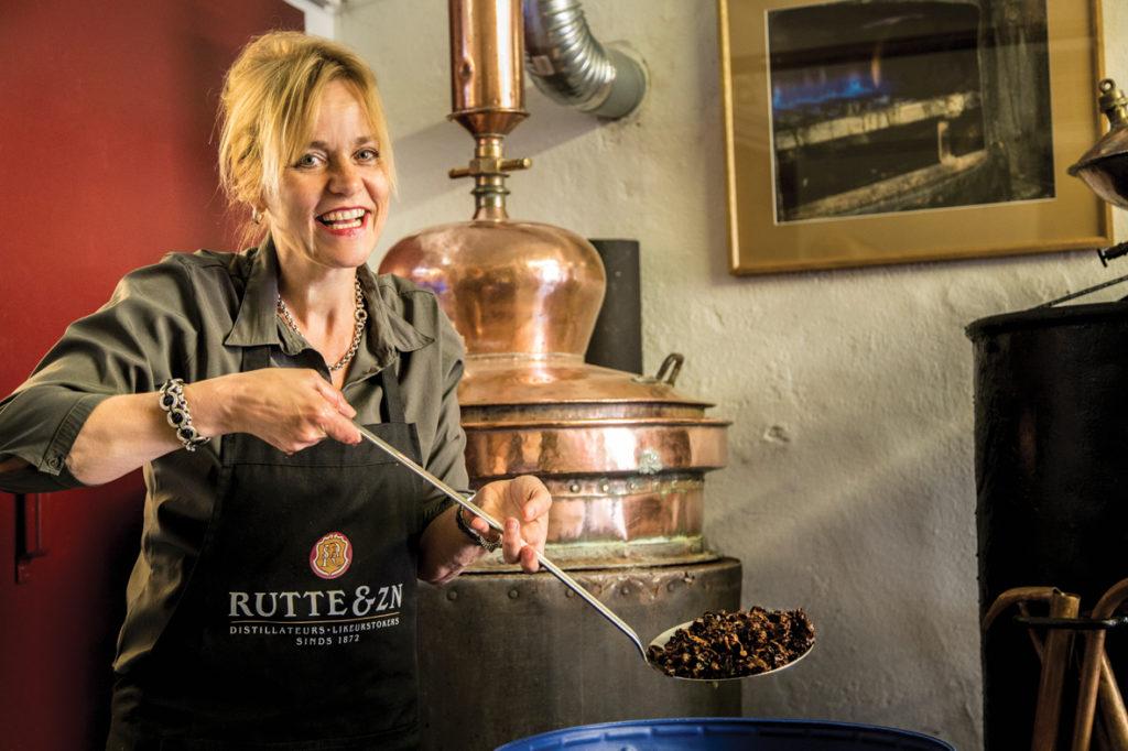 Myriam Hendrickx The master distiller (photo credit Rutte distillery)